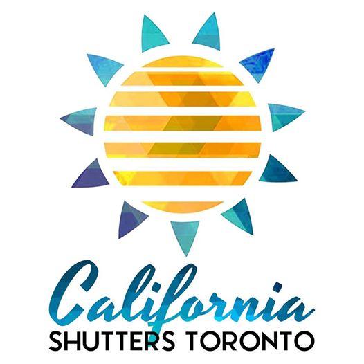 California Shutters Toronto Big Logo