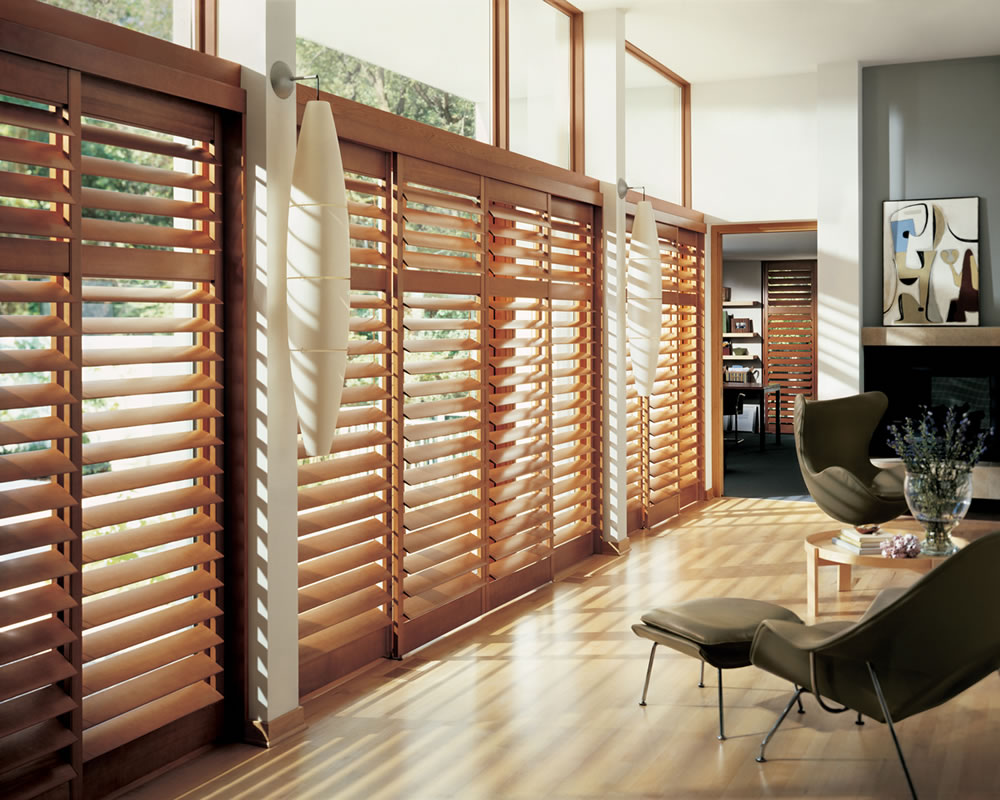 UV Resistant California Wood Shutters